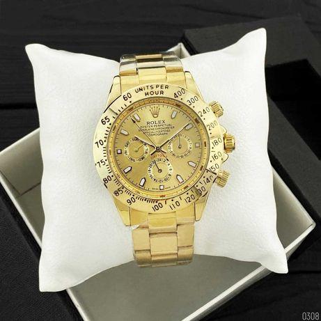 Мужские наручные часы золотые Ролекс  Rolex Daytona