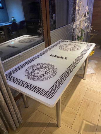 Stół Versace + 6 krzeseł