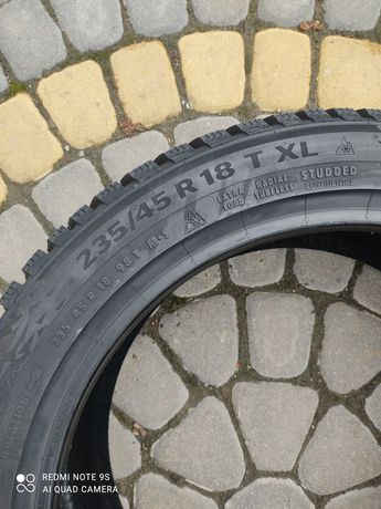 235/45R18 98T Continental IceContact 3