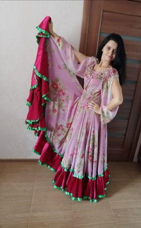 Цыганское платье