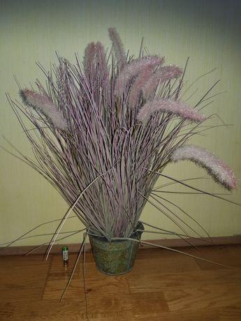 Красивый декоративный цветок/камыш/куст