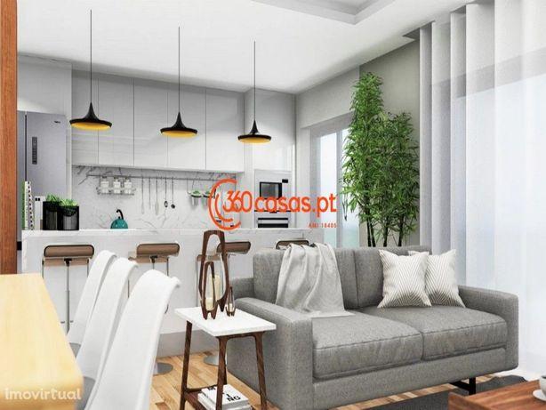 Apartamento novo T3 com garagem e arrecadação em Faro