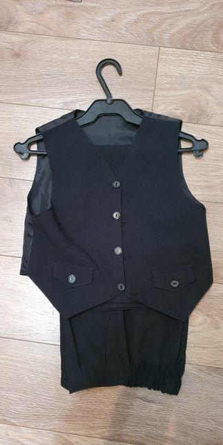 Spodnie i kamizelka 128