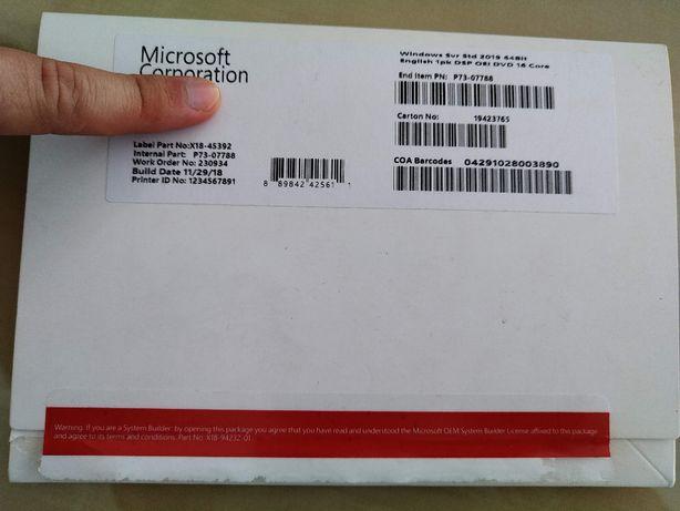 Windows Server 2019 OEM Serial Original