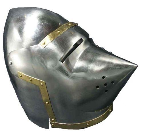 Replika hełmu średniowiecznego psi pysk