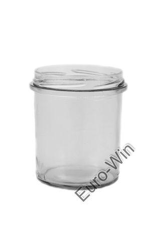 Słoik TO 350 ml - wieczko fi 82 na kiełbasę, olej