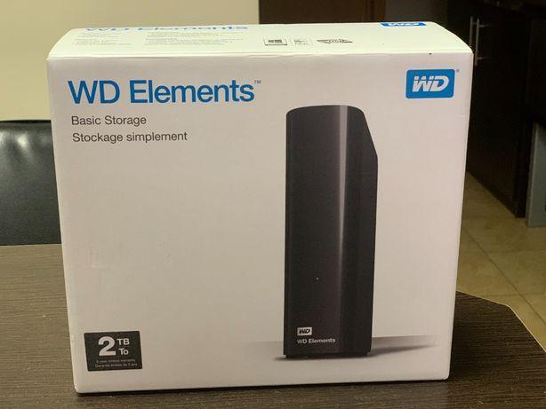 """Внешний жесткий диск 3.5&"""" 2TB Western Digital (WDBWLG0020HBK-EESN)"""