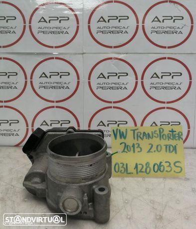 Borboleta de admissão VW Transporter 2.0 tdi de 2013, ref 03L128063S.