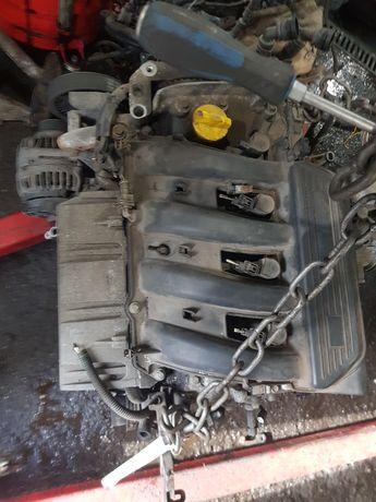 Silnik Renault 1.6 16v K4M
