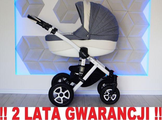 Wózek ADAMEX BARLETTA 2w1 - niezawodny, zwrotny !! WYSYŁKA 24h!!