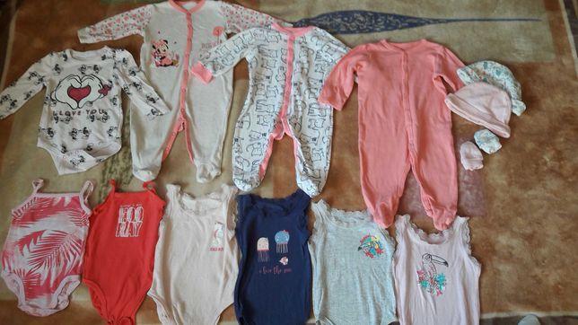 Ubranka, ciuszki dla dziewczynki.