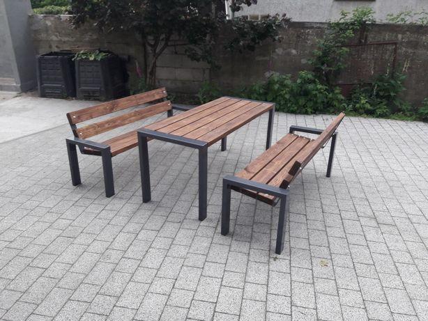 Ławki stół ogrodowy