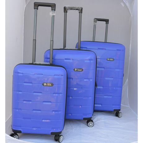Komplet walizek, polipropylen, elastyczny materiał, Promocja
