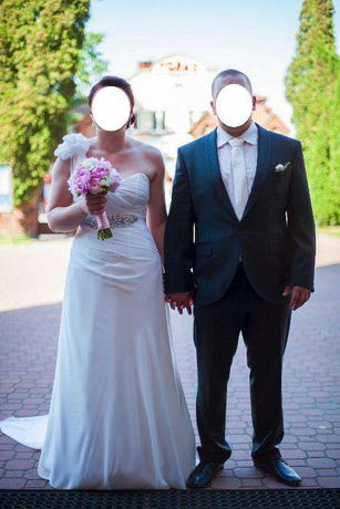 Suknia ślubna Cyklamen rozmiar 38-40