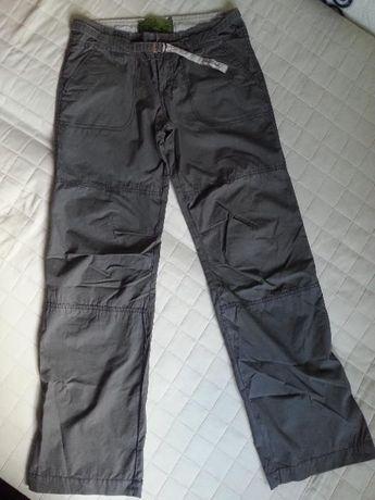 Spodnie bojówki Diverse - damskie szare/khaki rozmiar 26