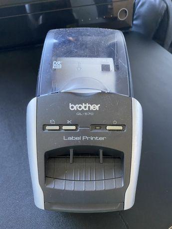 Impressora de Etiquetas Brother QL-570 - Como Nova