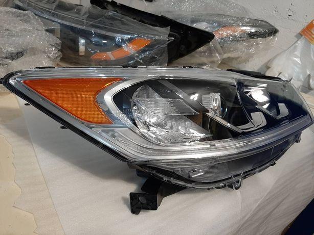 Honda Accord 2013-2017 фары, задний фонарь внутренний/наружный
