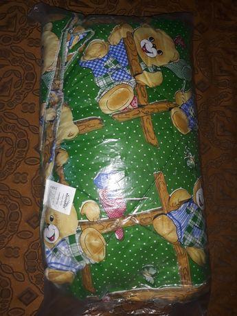 Продам новое детское одеяло и подушку
