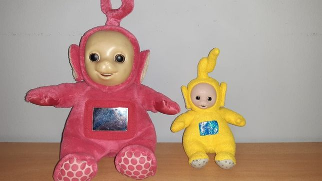 2 Teletubisie - maskotki - LALA i PO