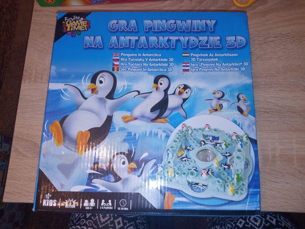 Gra pingwiny na Antarktydzie 3D