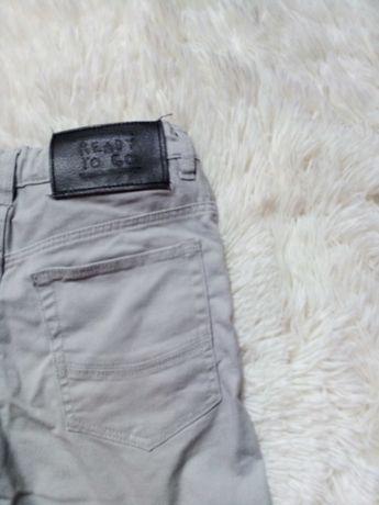 Super spodnie szare  140