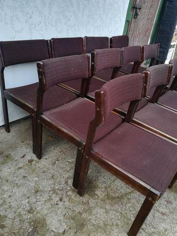 Zestaw krzeseł do knajpy, baru PRL