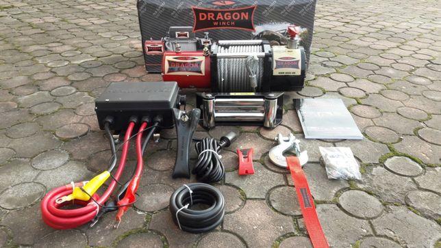 Wyciągarka, wciągrka samochodowa Dragon Winch DWM 8000 HD 12V 3,7T