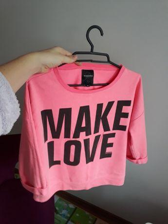 Bluza różowa amisu M