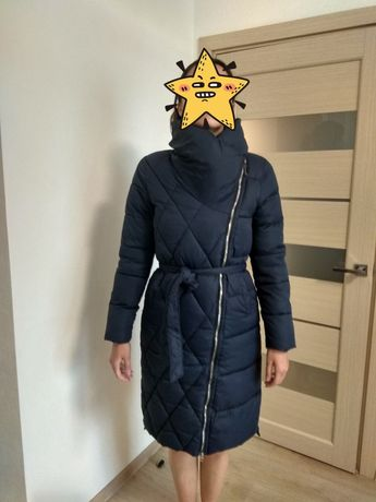 Женская зимняя куртка синтепон