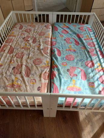 Продам 2 кроватки Икеа 70×160