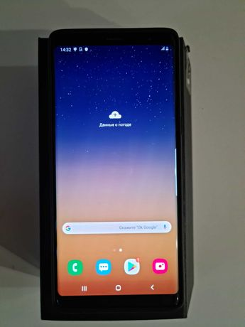Свой Samsung Galaxy Note 8 SM-N950FD Black 2sim+ориг чехол