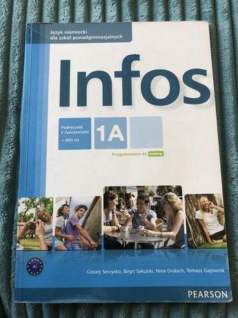 Infos 1A podręcznik z ćwiczeniami+ płyty CD Pearson