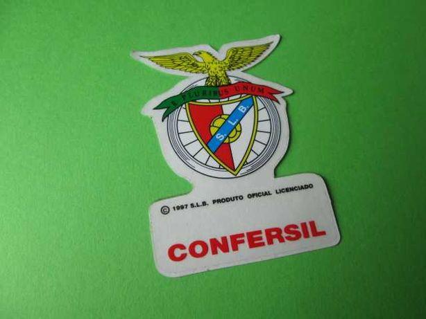 Raro Autocolante do Benfica Bicicletas Confersil Anos 90 - Novo
