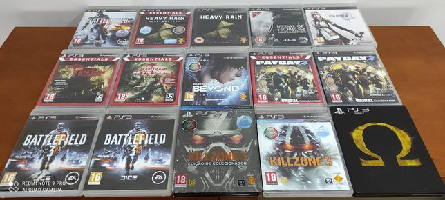 Jogos PlayStation 3 PS3