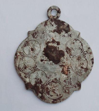 Медальйон,лампатка католицька.