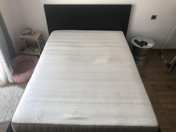 Łóżko Ikea 160x200 stan idealny + materac + 4 szuflady