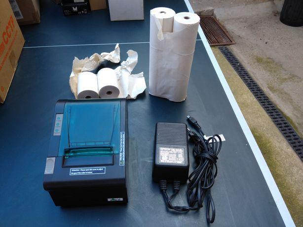 Impressora de talões térmica Pos. Oferta de 8 rolos de papel