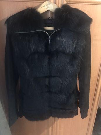 Шуба трансформер,куртка,натуральный мех