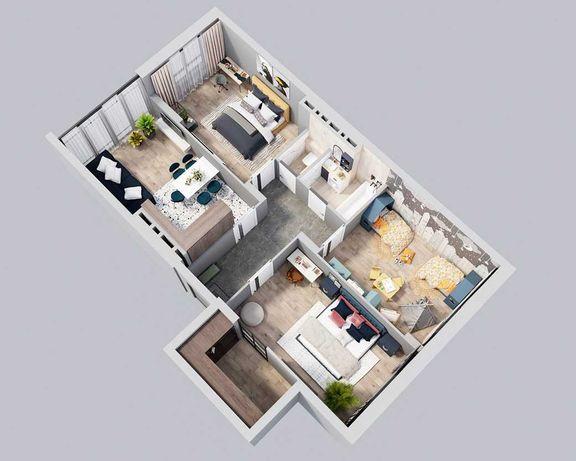 Продам 3 кім.  квартиру 85 м.кв. R2 Residence