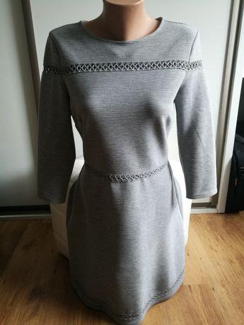 Reserved sukienka szara L