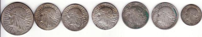2,5,10 злотых 1932,1933 Ядвига злотих злоті злотые