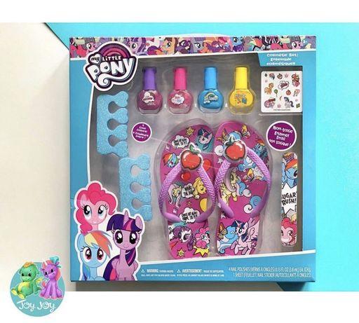 Детские игрушки наборы косметики лаки Пони Pony