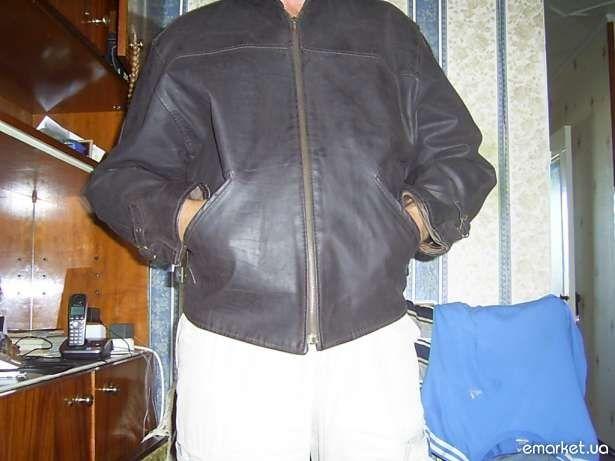 продам кож куртку косуха р-р50 52