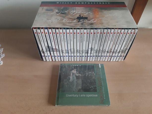 Kolekcja 30 płyt CD + 1 gratis Wielcy Kompozytorzy Gazeta Wyborcza