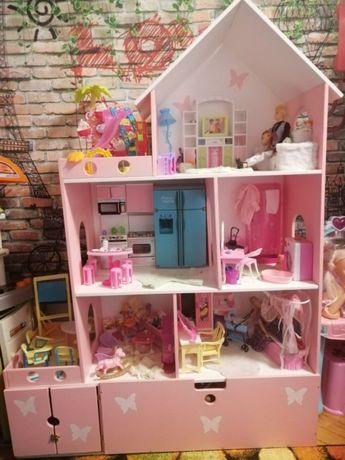 Многоэтажный кукольный дом !Домик для барби, лол и других