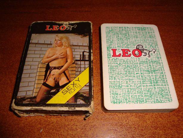 Игральные карты LEO