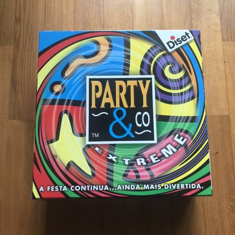 Jogo Party & Co Extreme Novo