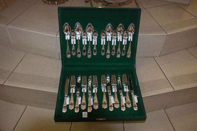 Столовый набор серебро 925