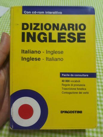 Итальянско-английский и английско-итальянский словарь с диском.Италия