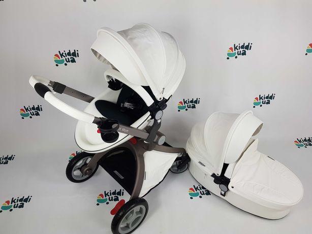 Новая Hot Mom білий колір коляска 2в1 аналог mima xari оригінал